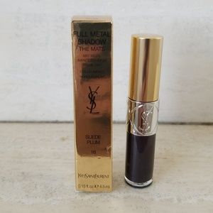 NEW YSL Full Metal Shadow The Mats Suede Plum 16